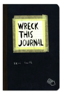 Picture of the cover for the book Wreck This Journal the original.