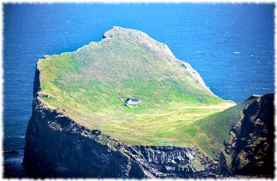 Ellidaey Island Famous Internet Picture